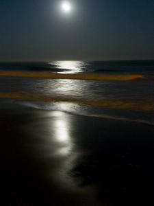 Blood Moon over Wrightsville Beach by Brian Gordon Green