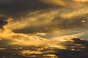 Dramatic Sunset over Topsail Island, North Carolina by Brian Gordon Green
