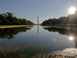 Early Morning Photograph of the Reflecting Pool Facing East by Brian Gordon Green
