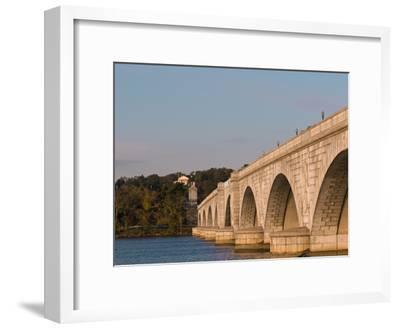 Memorial Bridge Facing Robert E. Lee's House and Arlington Cemetery