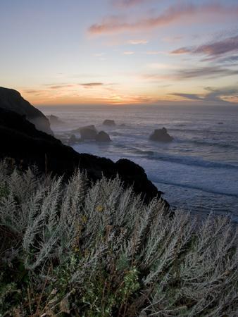 Sunset on California's Big Sur Coast
