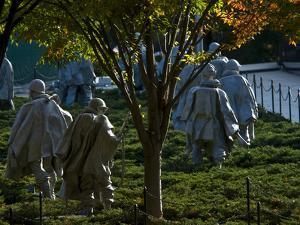 The Korean War Memorial in Autumn by Brian Gordon Green