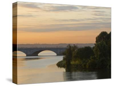 Twilight View of the 14th Street Bridge over the Potomac River