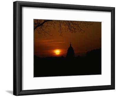 United States Capitol at Sunrise