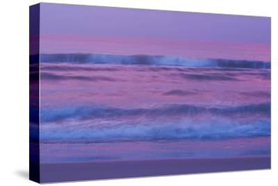 Waves and Surf On the Atlantic Ocean At Sunrise