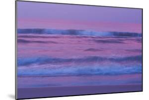 Waves and Surf On the Atlantic Ocean At Sunrise by Brian Gordon Green