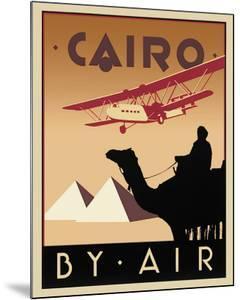 Cairo by Air by Brian James