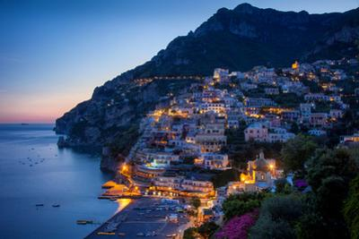 Amalfi Coast of the Hillside Town of Positano, Italy by Brian Jannsen