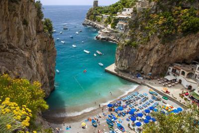 Beach in the Rocky Coastline of Amalfi Near Praiano, Campania, Italy by Brian Jannsen