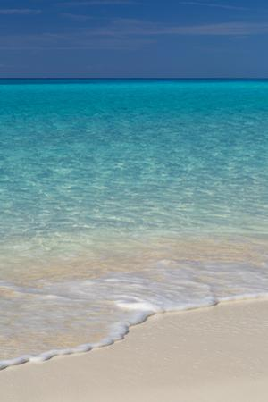 Blue and green water off Half Moon Cay Beach, Bahama Islands by Brian Jannsen