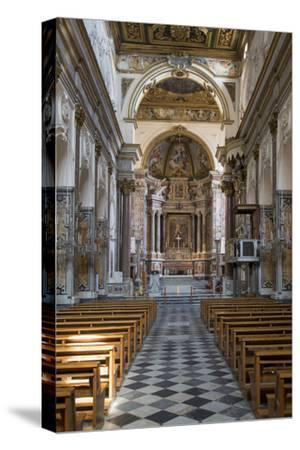Cattedrale di Sant'Andrea Interior, Amalfi, Campania, Italy