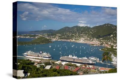 Charlotte Amalie Harbor, Paradise Point, St Thomas, Us Virgin Islands