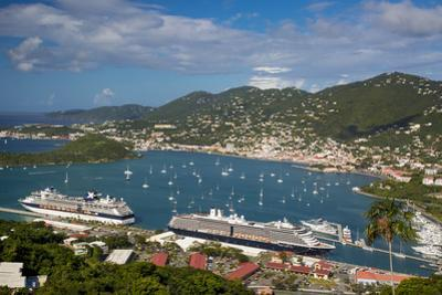 Charlotte Amalie Harbor, Paradise Point, St Thomas, Us Virgin Islands