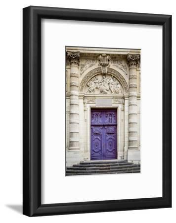 Doors to Saint Etienne Du-Mont Church, Latin Quarter, Paris, France