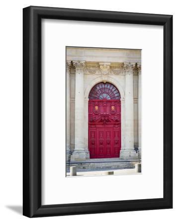 Doors to Saint Paul-Saint Louis Church in the Marais, Paris, France