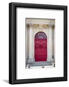 Doors to Saint Paul-Saint Louis Church in the Marais, Paris, France by Brian Jannsen