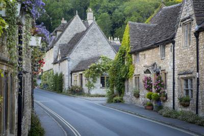 Early Morning in Castle Combe, Cotswolds, Wiltshire, England by Brian Jannsen
