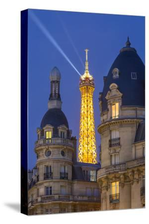 Eiffel Tower Viewed from Passy District, Paris, France