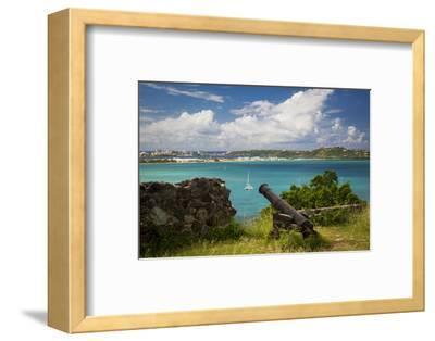 Fort Louis Overlooking Marigot Bay, Marigot, Saint Martin, West Indies