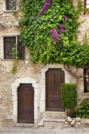 Front Doors to Homes in Ancient St. Paul De-Vence, Provence, France by Brian Jannsen