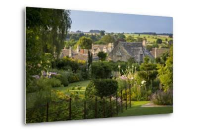Garden Above the Rooftops of Burford, Cotswolds, Oxfordshire, England