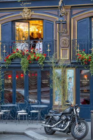 Historic La Perouse Restaurant in Saint Germain Des Pres, Paris France by Brian Jannsen