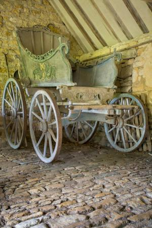 Horse-Drawn Carriage, Snowshill Manor, the Cotswolds, England by Brian Jannsen