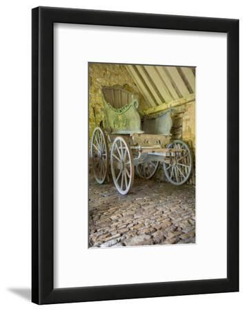 Horse-Drawn Carriage, Snowshill Manor, the Cotswolds, England