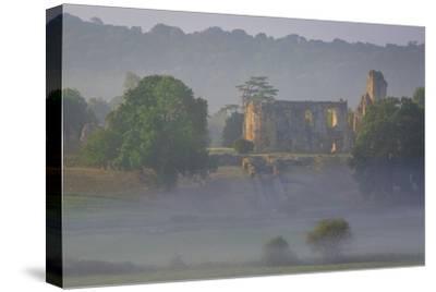Misty Dawn over Sherborne Castle, Sherborne, Dorset, England