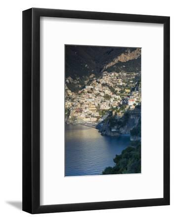 Morning View of Positano, Along the Amalfi Coast, Campania, Italy