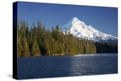 Mt Hood Rises Above Lost Lake, Cascade Mountains, Oregon, USA