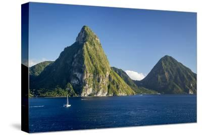 Petite Piton Near Soufriere, St. Lucia, West Indies