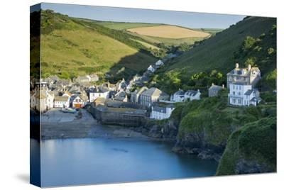 Picturesque Harbor Town of Port Isaac, Cornwall, England