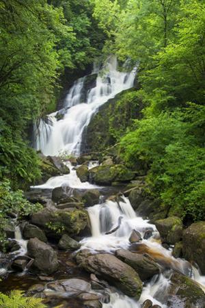 Torc Waterfalls, Killarney National Park, County Kerry, Republic of Ireland by Brian Jannsen