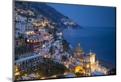 Twilight over Positano Along the Amalfi Coast, Campania, Italy by Brian Jannsen