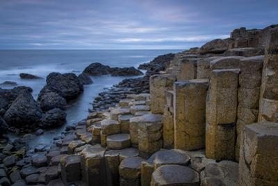 Twilight over the Giant's Causeway Along the Northern Coast, County Antrim, Northern Ireland, Uk by Brian Jannsen