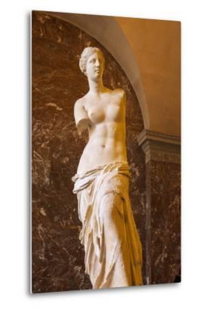 Venus De Milo Statue on Display at Musee Du Louvre, Paris, France