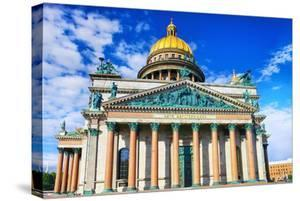 Saint Isaac's Cathedral in St Petersburg, Russia. by Brian K