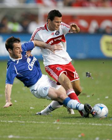 Jul 30, 2008, Everton FC vs Chicago Fire - Marco Pappa by Brian Kersey