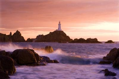 La Corbiere Lighthouse at Sunset,