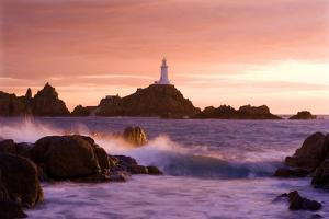La Corbiere Lighthouse at Sunset, by Brian Lawrence