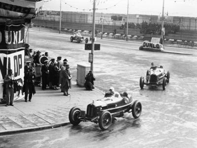 Brian Lewis in an Alfa Romeo Monza in the Mannin Moar Race, Douglas, Isle of Man, 1933