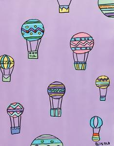 Balloons - Purple by Brian Nash