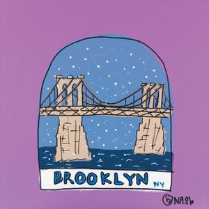 Brooklyn Snow Globe by Brian Nash