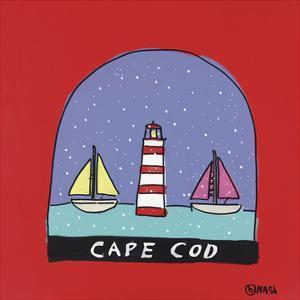 Cape Cod Snow Globe by Brian Nash