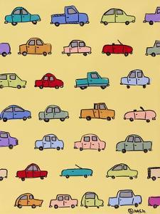 Cars Yellow by Brian Nash