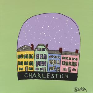 Charleston Snow Globe by Brian Nash