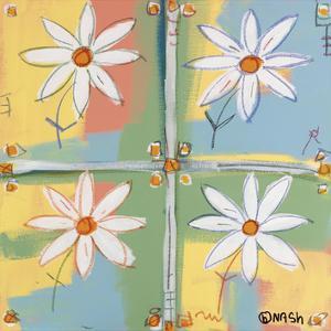 Four Daisies by Brian Nash