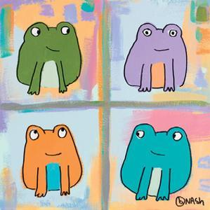 Frogs by Brian Nash