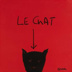 Le Chat by Brian Nash